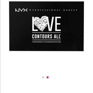NYX Makeup - BUNDLE-NEW NYX make up palette .  Also MORPHE eye